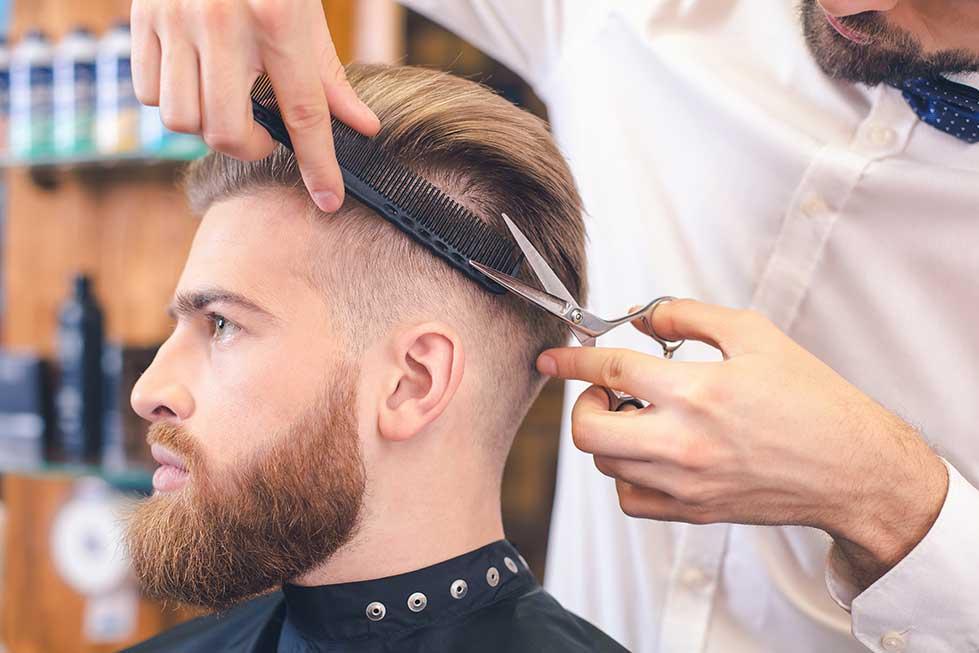 Herren Haarschnitt Icon - Friseur Hairfirestorm