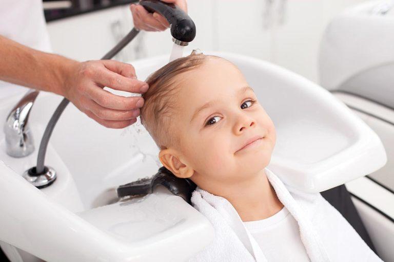 Kinderhaarschnitt für Jungen - Friseur Hairfirestorm