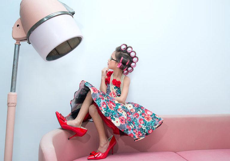 Kinderhaarschnitt für Mädchen Bob, Kurz, länger oder schulterlang - Friseur Hairfirestorm